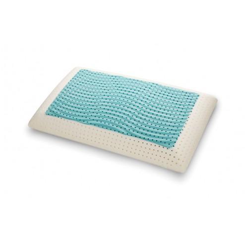 Cuscino SeaWave in MyMemory FRESH Memory Foam Termosensibile Altamente Traspirante Fresco - 100% Made in italy - Fodera Cotone Naturale