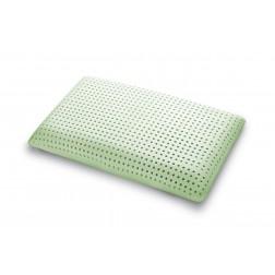 Cuscino GreenRelax in MyMemory Memory Foam Termosensibile Traspirante con Oli Essenziali - 100% Made in italy - Fodera Cotone Naturale