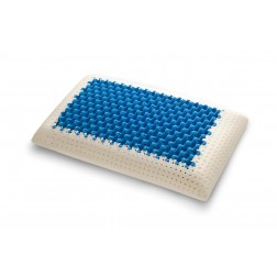 Cuscino Blue2Air in MyMemory Memory Foam Termosensibile Altamente Traspirante - 100% Made in italy - Fodera Cotone Naturale