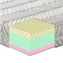 Materasso in memory Foam 3 strati mod. Alabastro